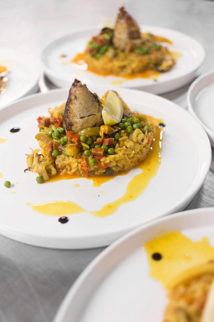 franck putelat Arenes de nimes restaurant musée de la romanité La table du 2