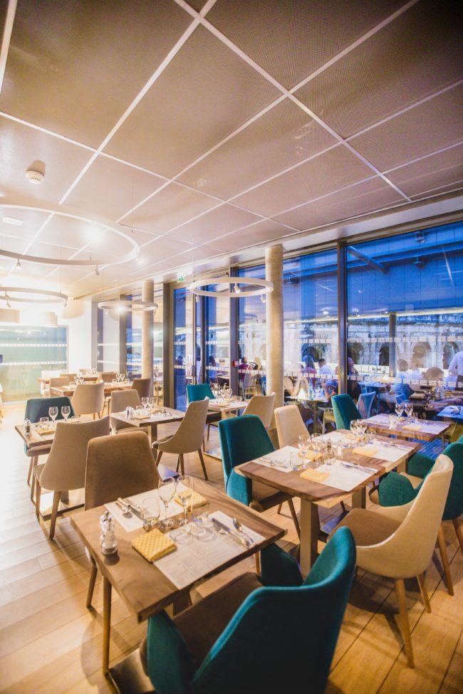Restaurant Pour Anniversaire A Nimes La Table Du 2 Au Musee De La Romanite