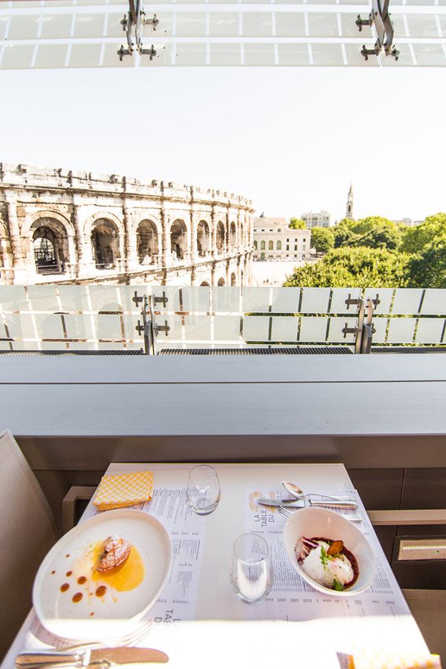 Un Restaurant Avec Terrasse A Nimes La Table Du 2
